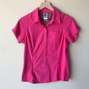 North Face women's outdoor button up